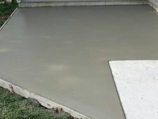 Concrete Patio in Lincoln, NE